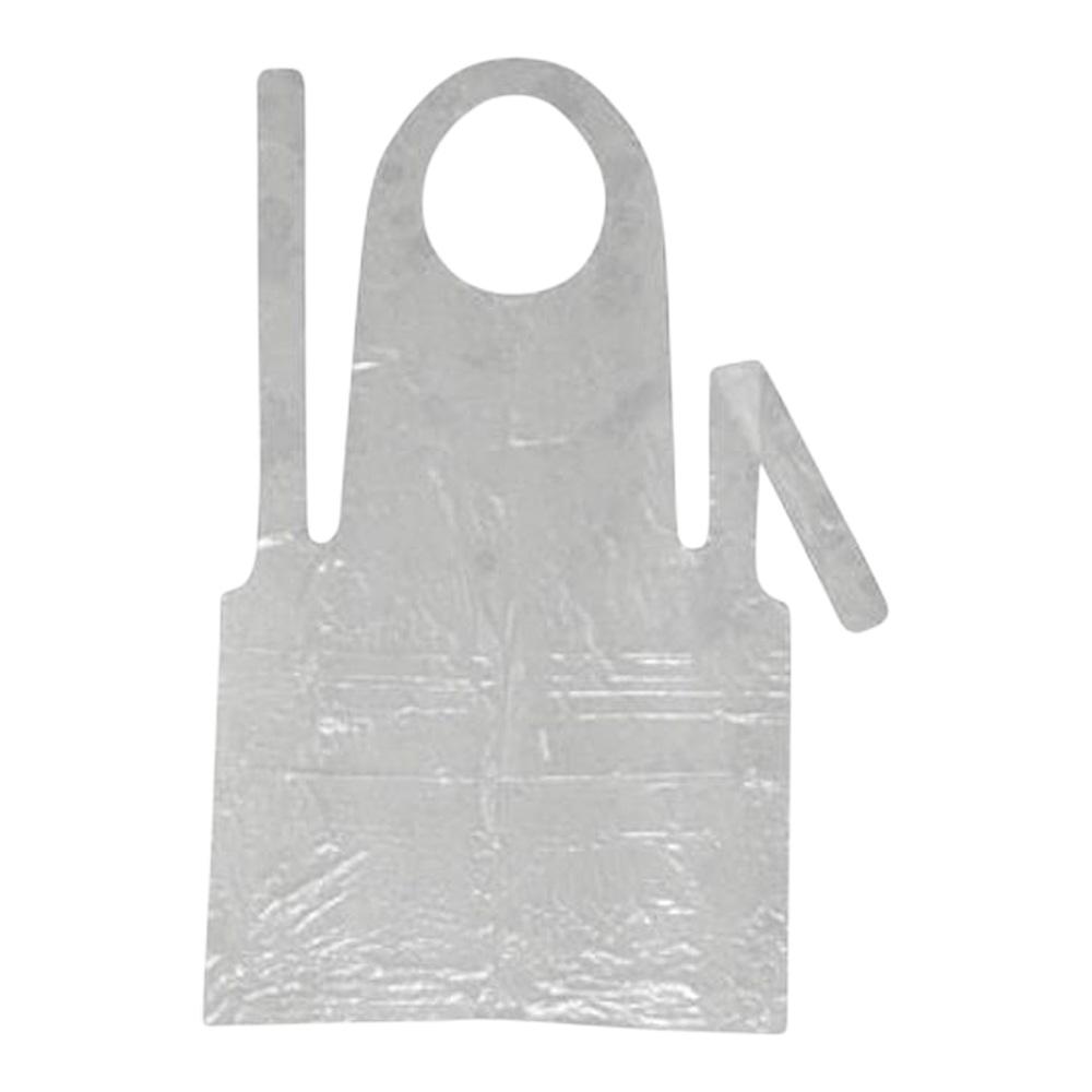 Polythene Disposable Bib Apron (Pack Of 100)