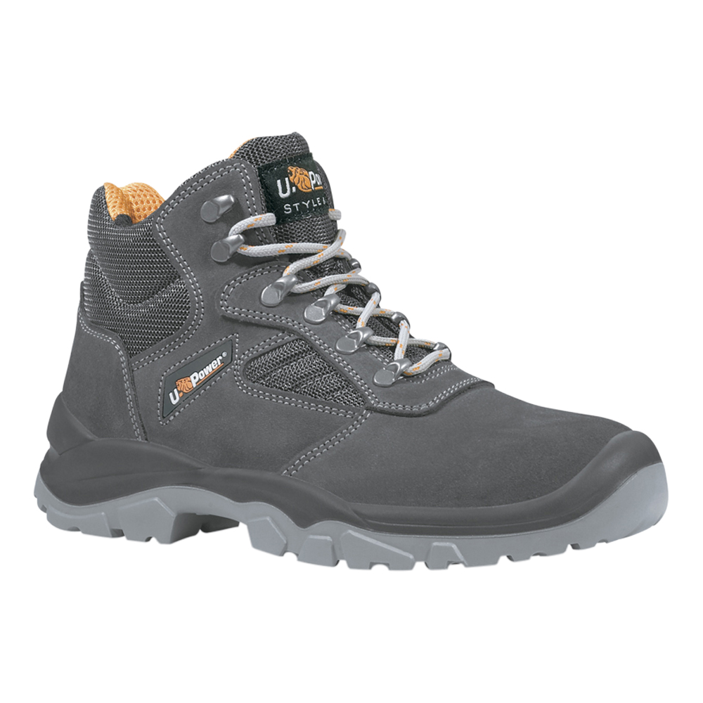 U-Power Real Suede Safety Boot
