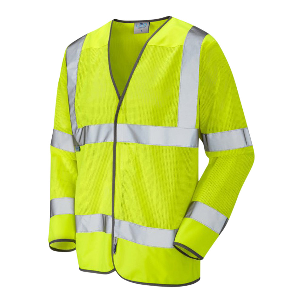 FREMINGTON ISO 20471 Class 3 Coolviz Sleeved Waistcoat Yellow