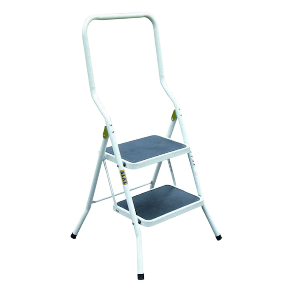 Two Tread Step Stool With Handrail