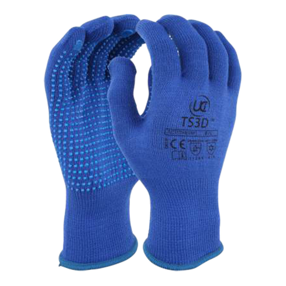 Thermal Insulating Dotted Gloves