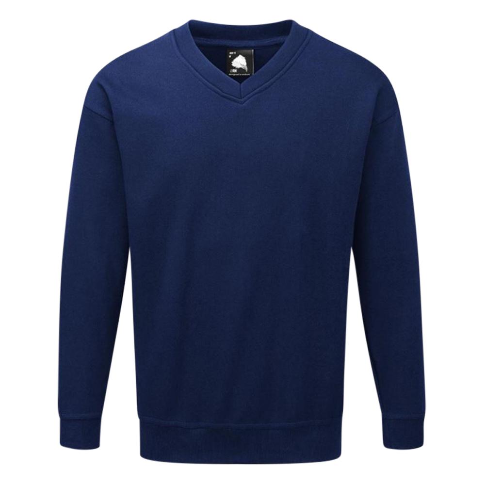 V Neck 340G Sweatshirt