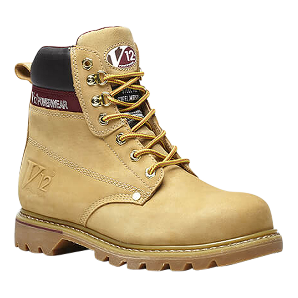 V12 Boulder Honey Derby Safety Boot